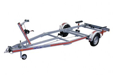 High-Quality Bootstrailer 1300 kg