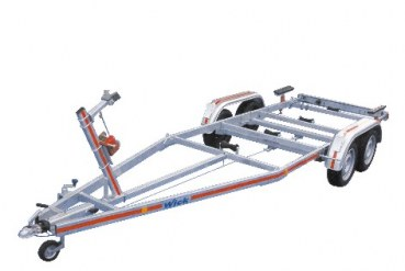 High-Quality Bootstrailer 2000 kg