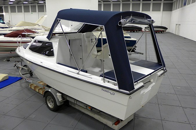 Cabrioverdeck Kajütboot High-Quality XL