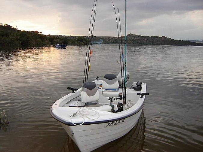 Farello Premium Angelboot 4,65m x 1,78m