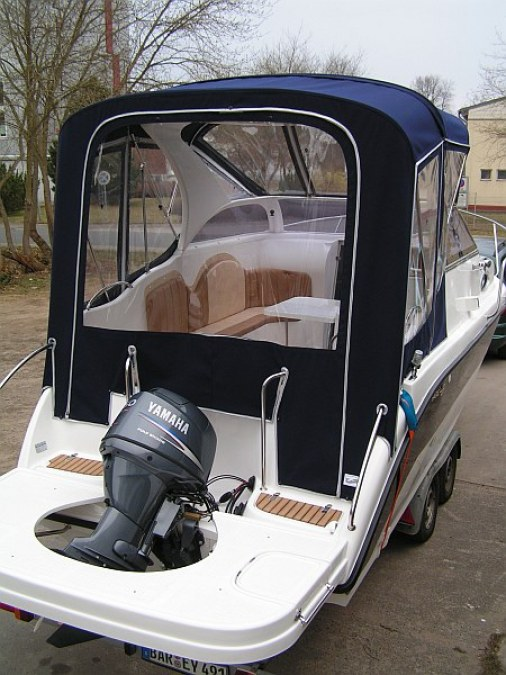 Cabrioverdeck Kajütboot High-Quality XXL